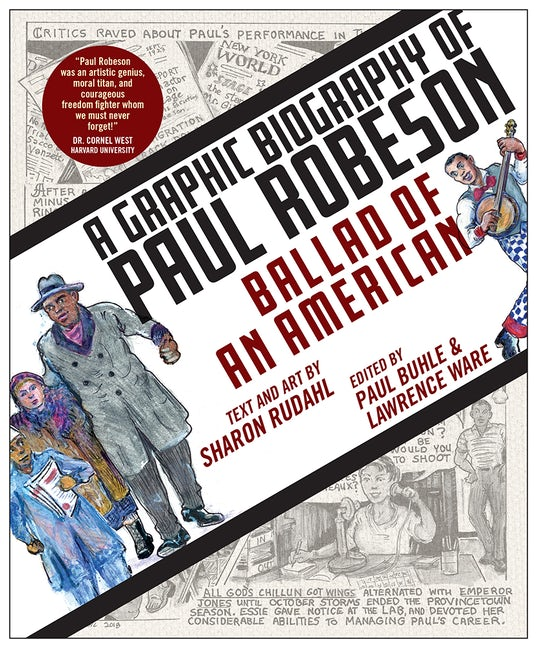 Cover of A Graphic Biography of Paul Robeson